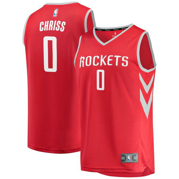 nba Houston Rockets trikots Marquese Chriss 0 Icon Edition herren rot