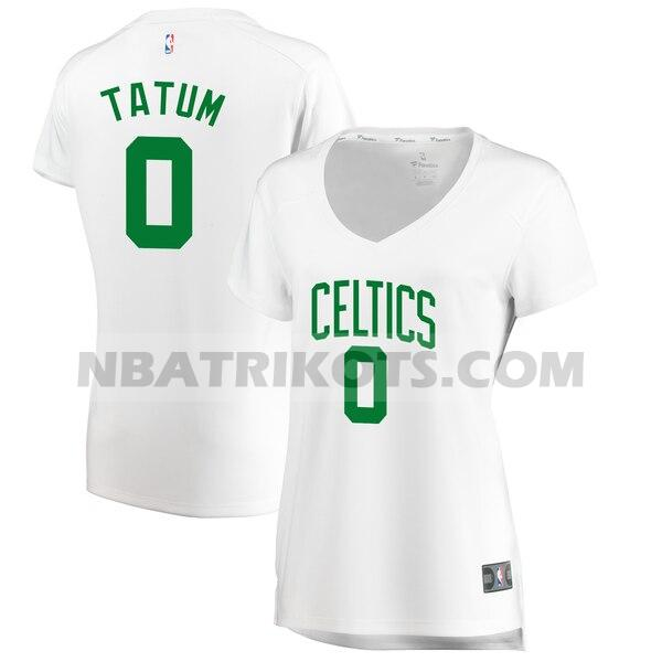 nba Boston Celtics trikots Jayson Tatum 0 association edition damen weiß