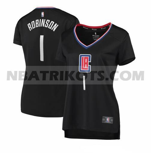 nba Los Angeles Clippers trikots Jerome Robinson 1 statement edition damen schwarz