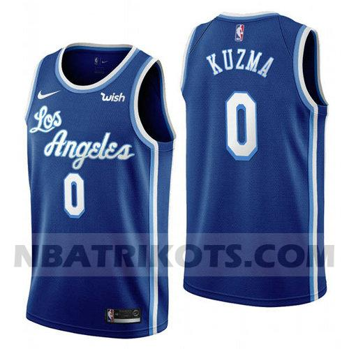 nba Los Angeles Lakers trikots Kyle Kuzma 0 2019-20 Herren blau