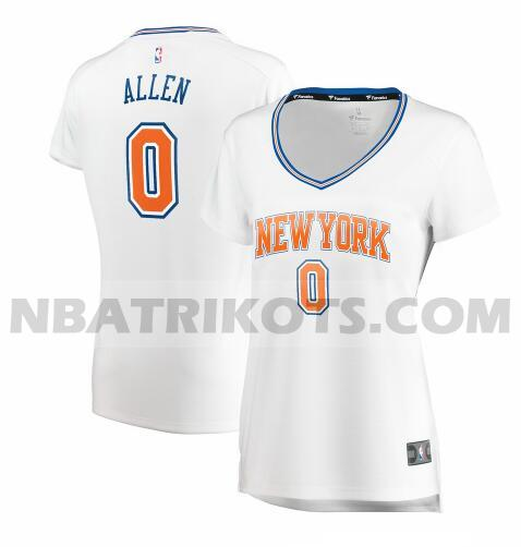 nba New York Knicks trikots Kadeem Allen 0 statement edition damen weiß