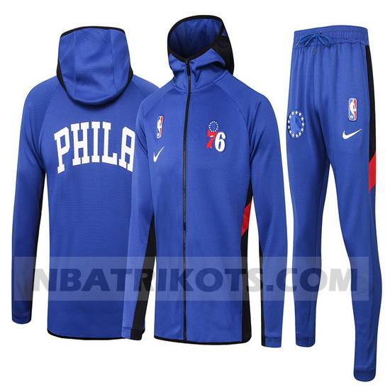 nba Philadelphia 76ers Trainingsanzüge Nike nba Showtime herren Blau