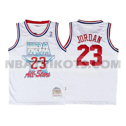 nba all star 1992 trikots Michael Jordan 23 herren weiß