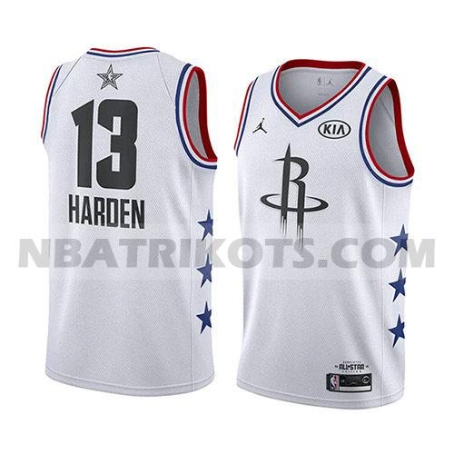 nba all star 2019 trikots James Harden 13 herren weiß