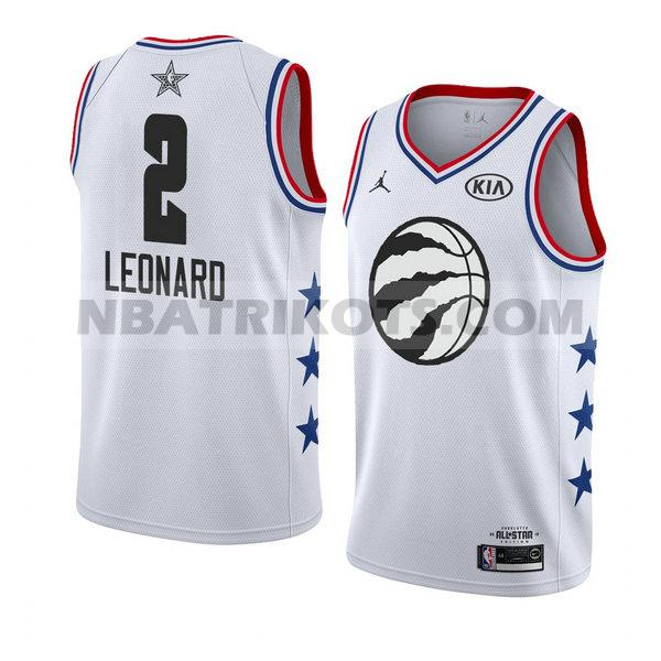 nba all star 2019 trikots Kawhi Leonard 2 herren weiss