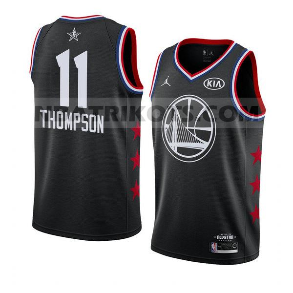 nba all star 2019 trikots Klay Thompson 11 herren schwarz