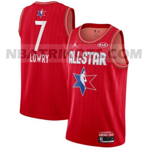 nba all star 2020 trikots Kyle Lowry 7 swingman jordan herren rot