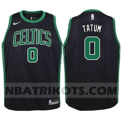 nba boston celtics trikots Jayson Tatum 0 2017-18 kinder schwarz