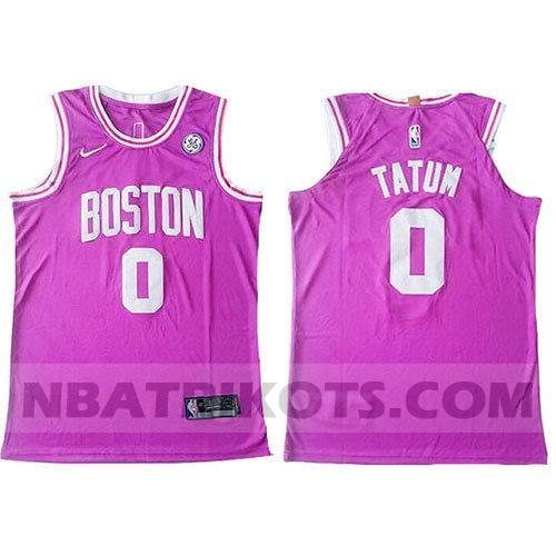 nba boston celtics trikots Jayson Tatum 0 authentisch herren pink