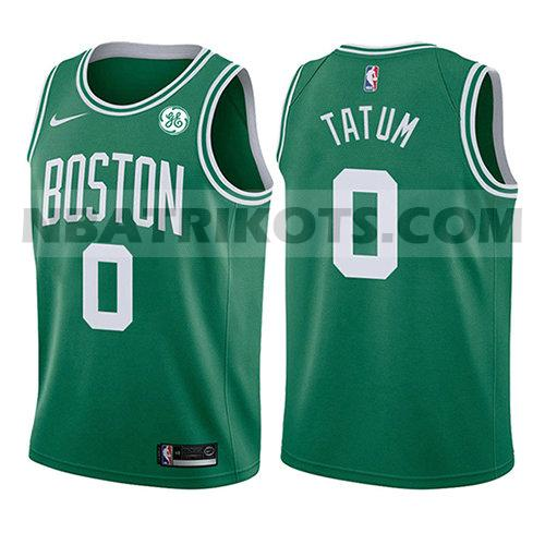 nba boston celtics trikots Jayson Tatum 0 symbol 2017-18 kinder grün