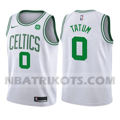 nba boston celtics trikots Jayson Tatum 0 verein 2017-18 kinder weiß