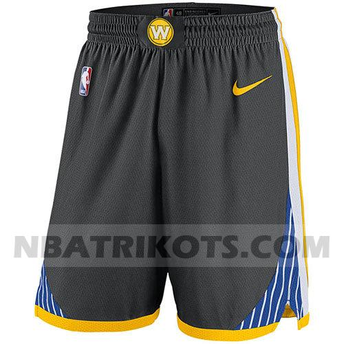 nba golden state warriors kurzen hosen 2017-18 herren grau
