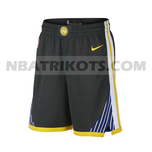 nba golden state warriors kurzen hosen 2017-18 herren schwarz