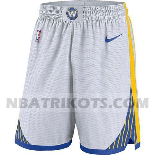 nba golden state warriors kurzen hosen 2018-19 herren weiß