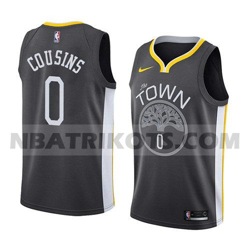 nba golden state warriors trikots Demarcus Cousins 0 aussage 2018-19 herren schwarz