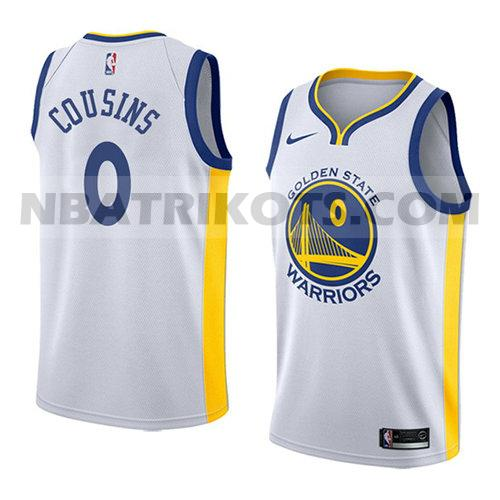 nba golden state warriors trikots Demarcus Cousins 0 verein 2018-19 herren weiß