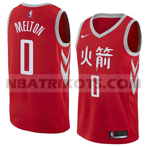 nba houston rockets trikots De'Anthony Melton 0 stadt 2017-18 herren rot