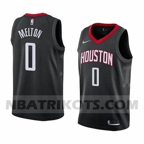 nba houston rockets trikots De'anthony Melton 0 aussage 2017-18 herren schwarz