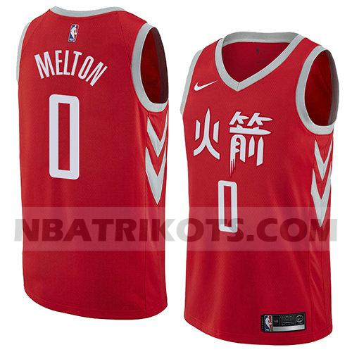 nba houston rockets trikots De'anthony Melton 0 stadt 2018 herren rot