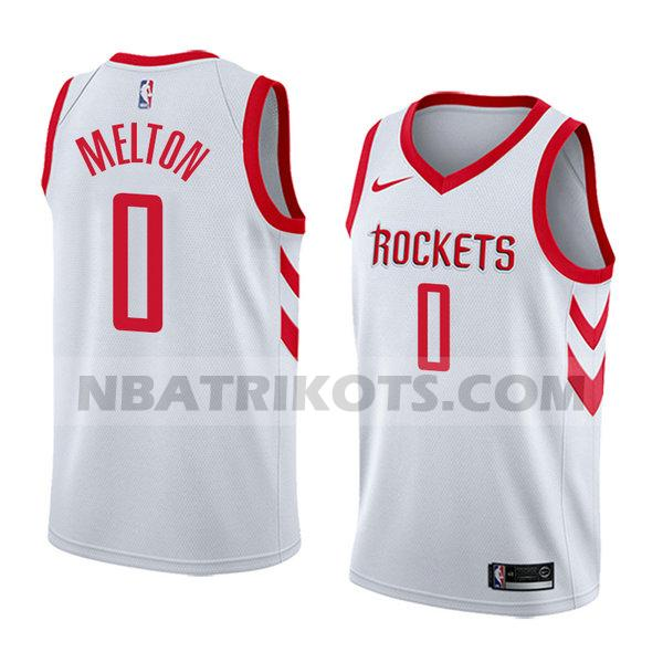 nba houston rockets trikots De'anthony Melton 0 verein 2018 herren weiß