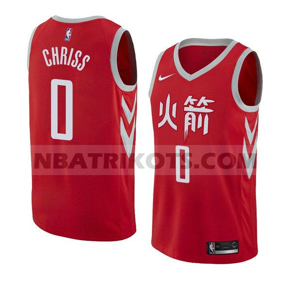 nba houston rockets trikots Marquese Chriss 0 stadt 2018 herren rot