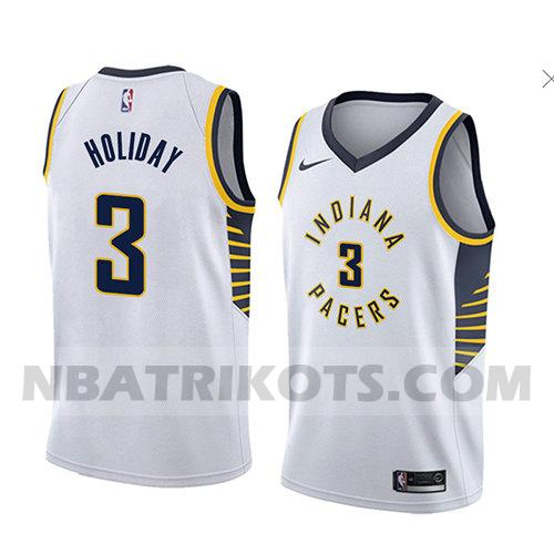 nba indiana pacers trikots Aaron Holiday 3 verein 2018 herren weiß