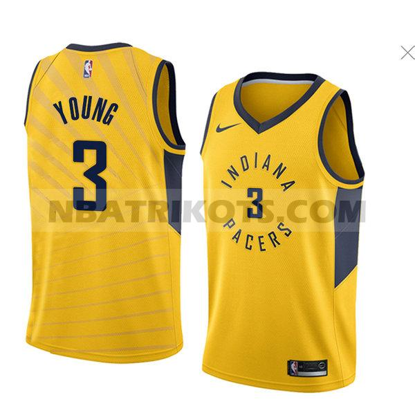nba indiana pacers trikots Joe Young 3 aussage 2018 herren gelb