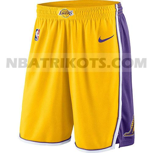 nba los angeles lakers kurzen hosen 2017-18 herren gold