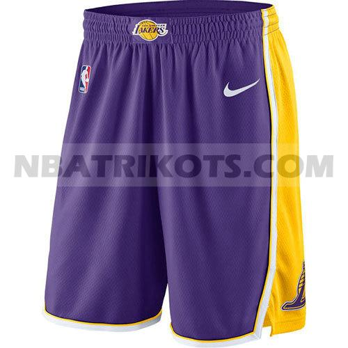 nba los angeles lakers kurzen hosen 2017-18 herren lila