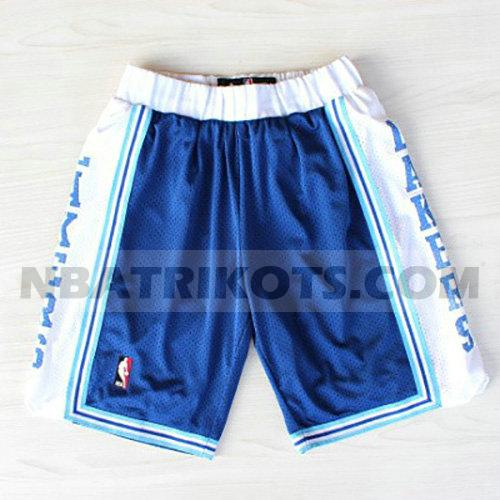 nba los angeles lakers kurzen hosen retro herren blau