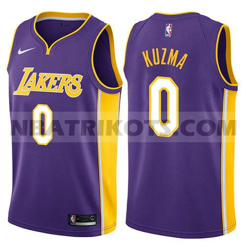 nba los angeles lakers trikots Kyle Kuzma 0 aussage 2018 herren lila