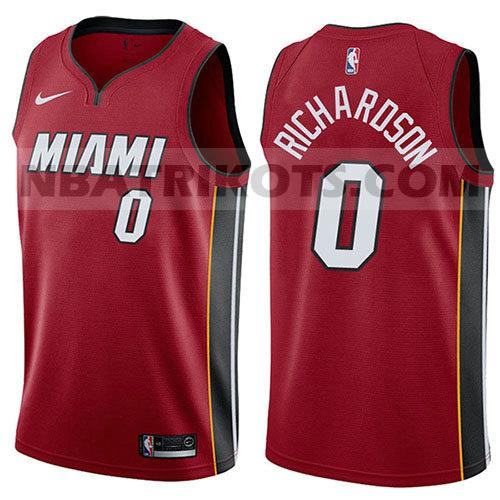 nba miami heat trikots Josh Richardson 0 aussage 2017-18 herren rot