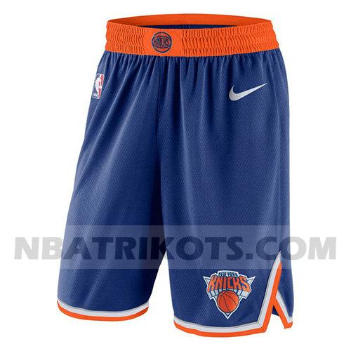 nba new york knicks kurzen hosen 2017-18 herren blau