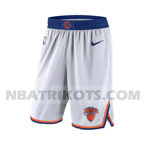 nba new york knicks kurzen hosen 2017-18 herren weiß